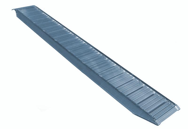 Nájezd hliníkový METALMEC, ALU 2450 mm délka, 360 mm šířka, nosnost 3000 kg na pár – CENA ZA KUS