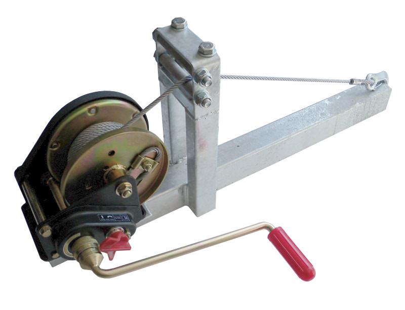Naviják AL-KO BASIC 900 (900 kg) odním. klika s lanem 6mm-10m a odnímat. držákem