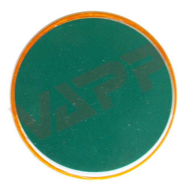 Odrazka oranžová pr. 63 mm samolepicí, zezadu