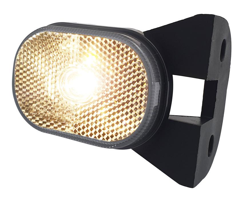 Poziční světlo LED Lucidity 26287C, 12V, na držáku, QS150, obr. 2