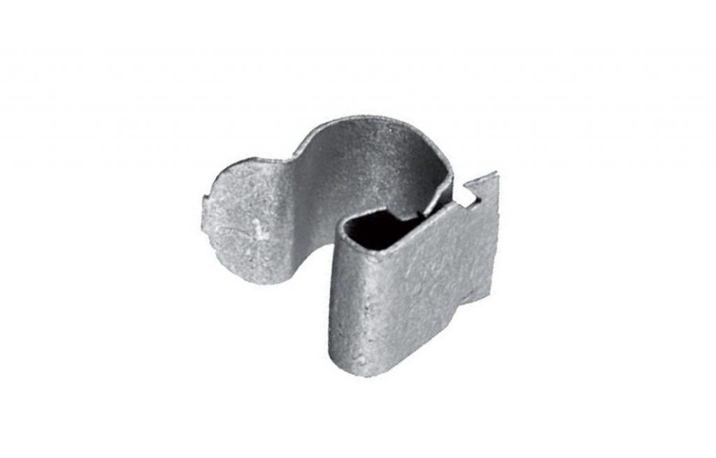 Příchytka kabelů Snap-clip na prům. kabelů 6-7mm pozink
