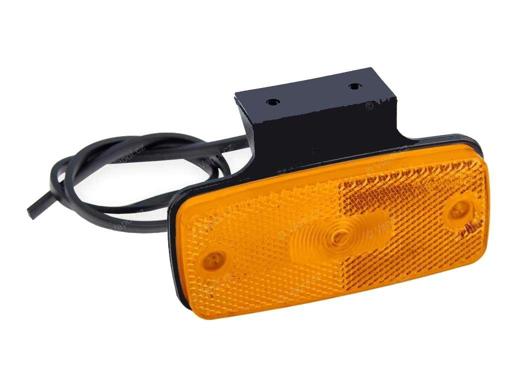 Světlo bočn oranžové DOB-45DZ-K LED, oranžové s držákem