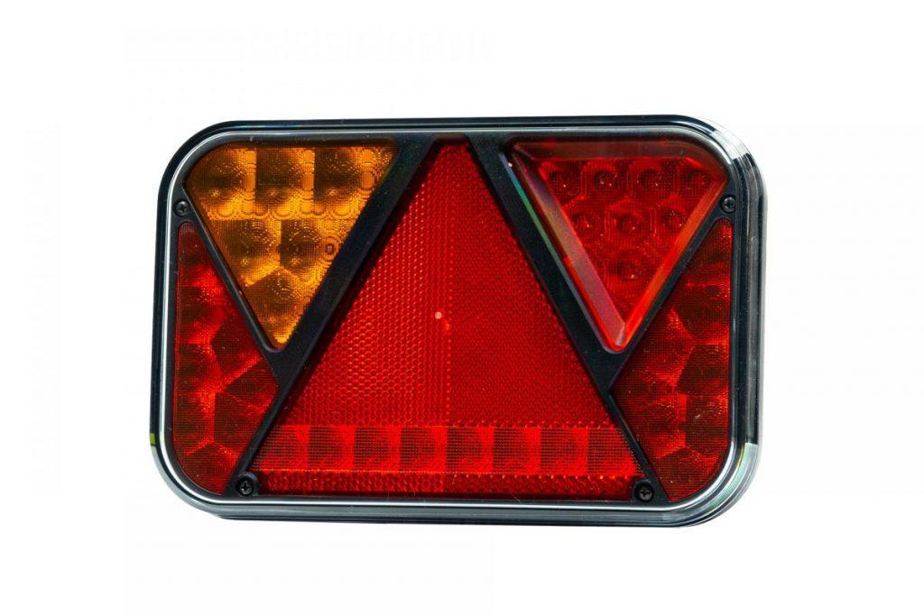 Světlo koncové LED – Fristom FT-270 sdružená LED 12V, L-BL-BR-KO-ML-RZ-, integrovaný kontrolbox, baj5, obr. 1
