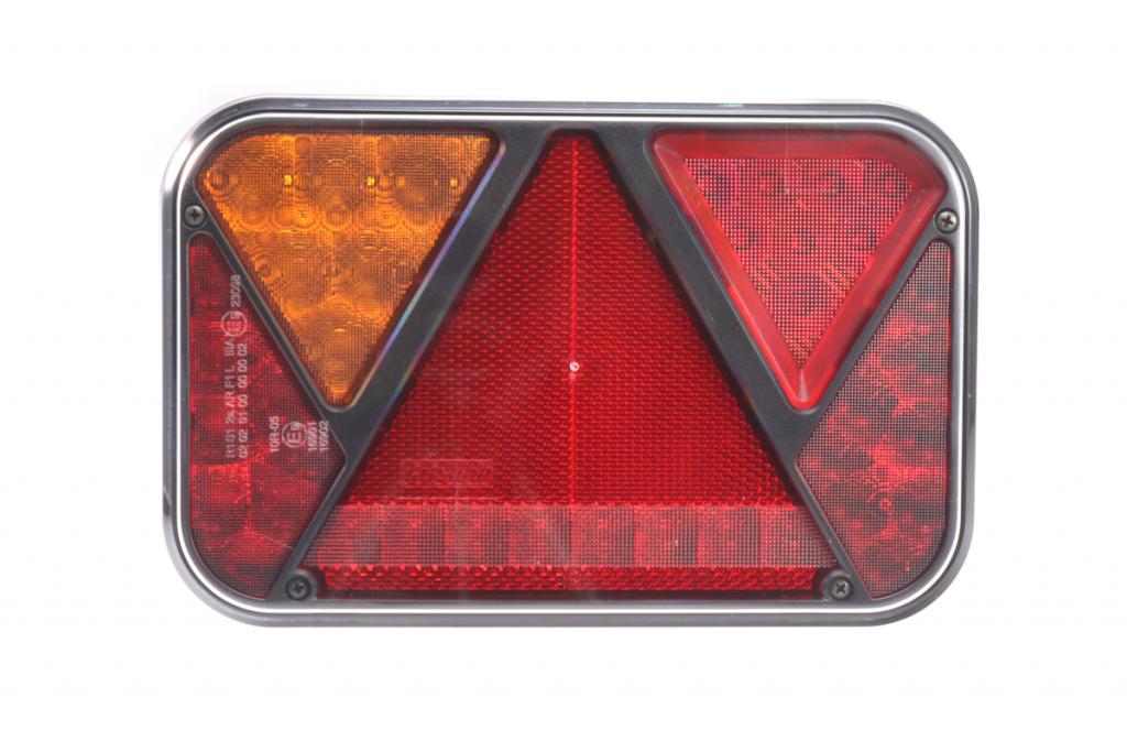 Světlo koncové LED – Fristom FT-270 sdružená LED 12V, L-BL-BR-KO-ML-RZ-, integrovaný kontrolbox, baj5, obr. 2