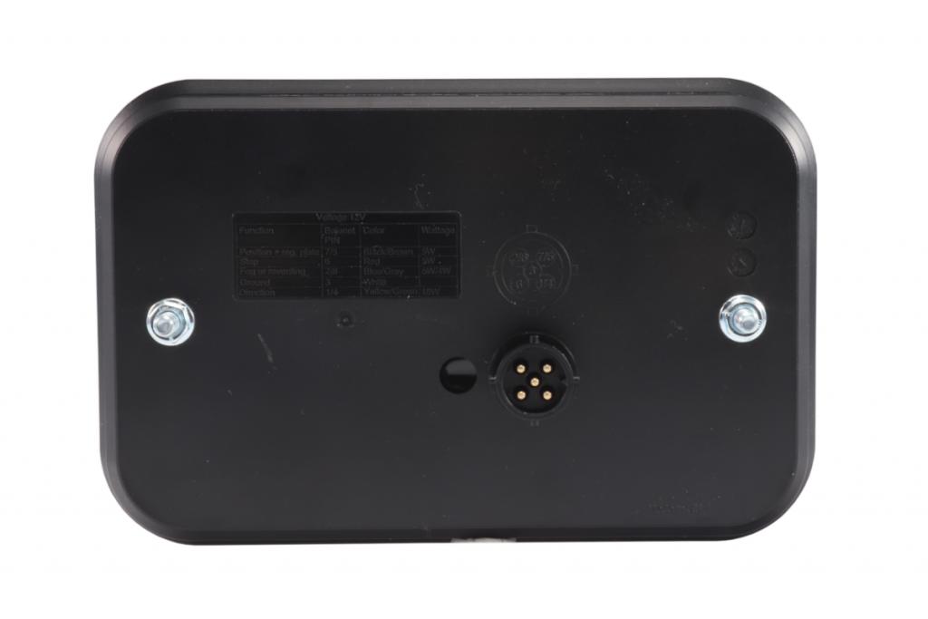 Světlo koncové LED – Fristom FT-270 sdružená LED 12V, L-BL-BR-KO-ML-RZ-, integrovaný kontrolbox, baj5, obr. 4