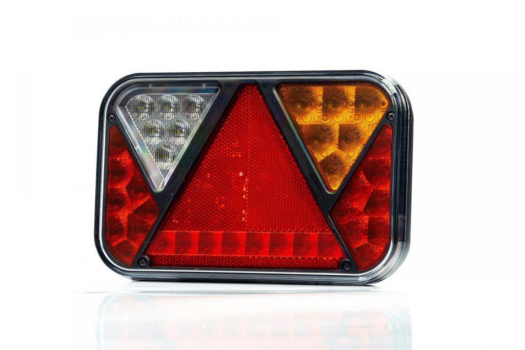 Světlo koncové LED – Fristom FT-270 sdružená LED 12V, P-BL-BR-KO-CO-RZ-, integrovaný kontrolbox, baj5, obr. 1