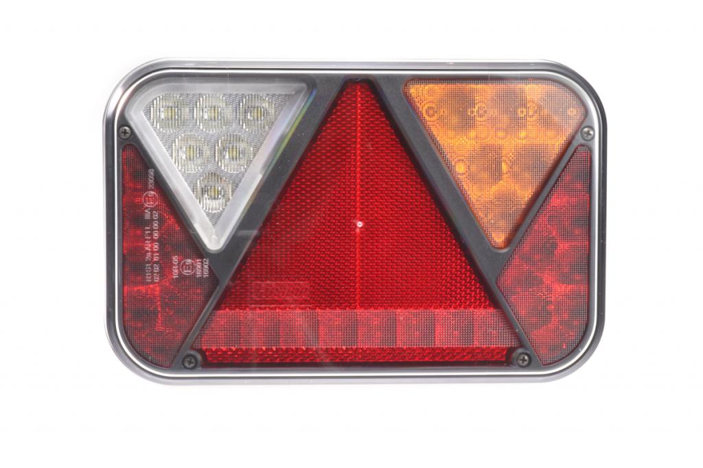 Světlo koncové LED – Fristom FT-270 sdružená LED 12V, P-BL-BR-KO-CO-RZ-, integrovaný kontrolbox, baj5, obr. 2