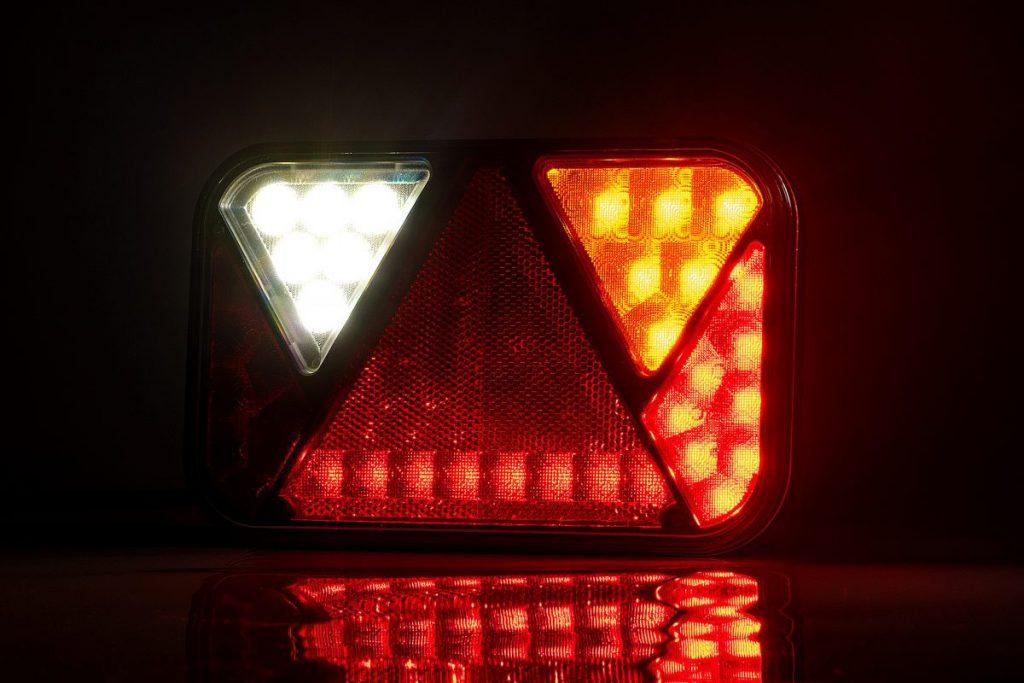 Světlo koncové LED – Fristom FT-270 sdružená LED 12V, P-BL-BR-KO-CO-RZ-, integrovaný kontrolbox, baj5, obr. 3