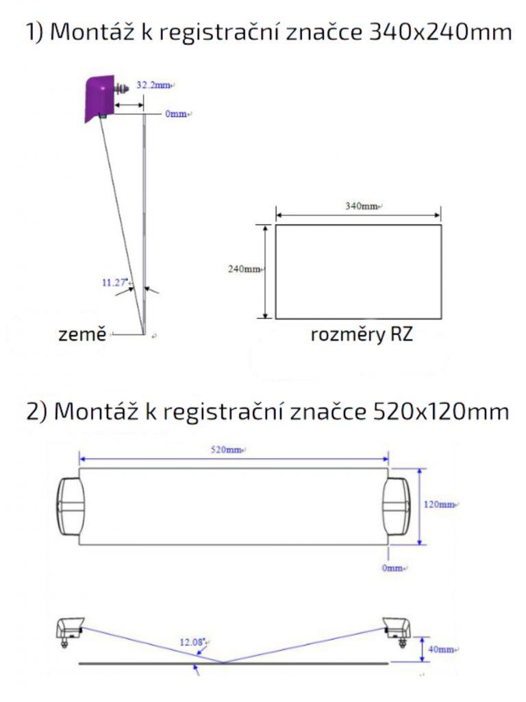 Osvětlení RZ, LED Lucidity 26800 (12-24V), QS150, montáž k RZ