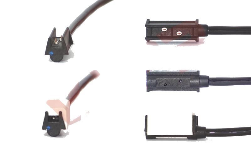 Světlo boční DIODOVÉ, tykadlo, červeno-bílé, LED WAS W21.6RF, 12-24V, 135 mm, QS150 , SNAP-IN kabel 0,5m, PRAVÁ nebo LEVÁ, obr. 2
