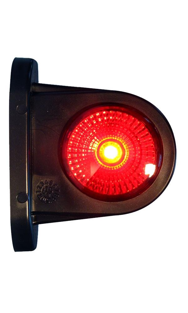 Svítilna doplňková obrysová LED WAS 296BC, 12-24V, P-L 78 mm, obr. 1