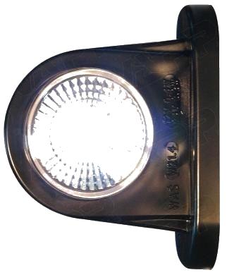 Svítilna doplňková obrysová LED WAS 296BC, 12-24V, P-L 78 mm, obr. 2