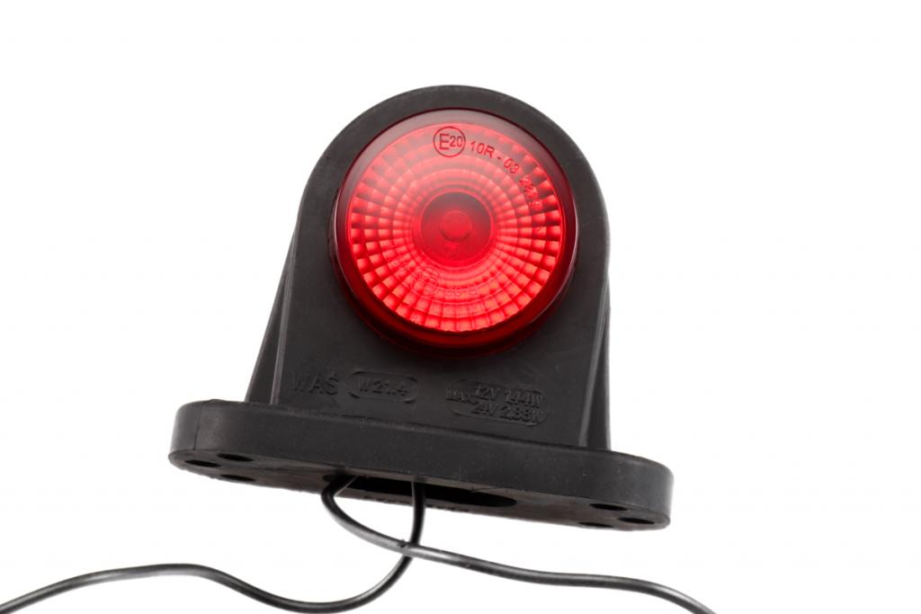 Svítilna doplňková obrysová LED WAS 296BC, 12-24V, P-L 78 mm, obr. 5