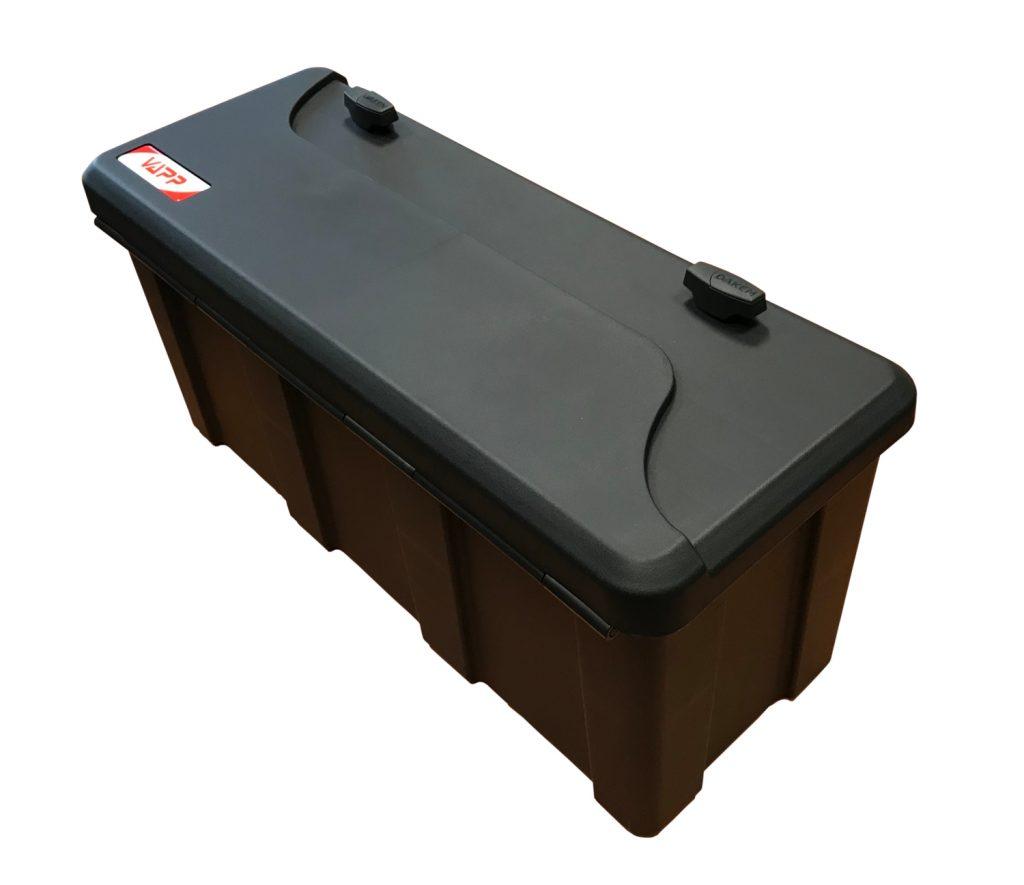 Box na nářadí BLACKIT L, dva zámky (horní otvírání) – 750x300x355 mm