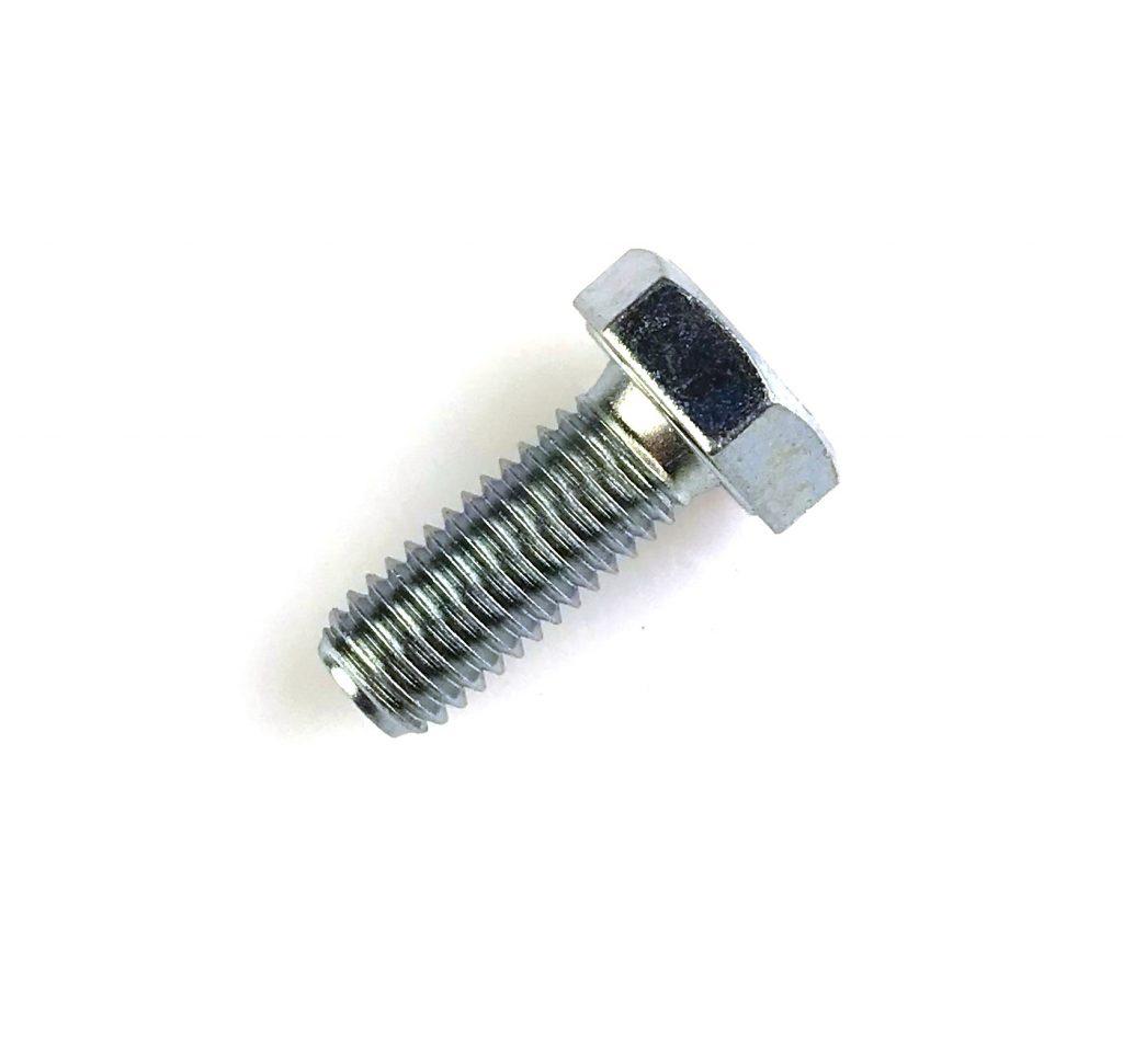 Šroub M10x25, šestihranná hlava, zn, 8.8