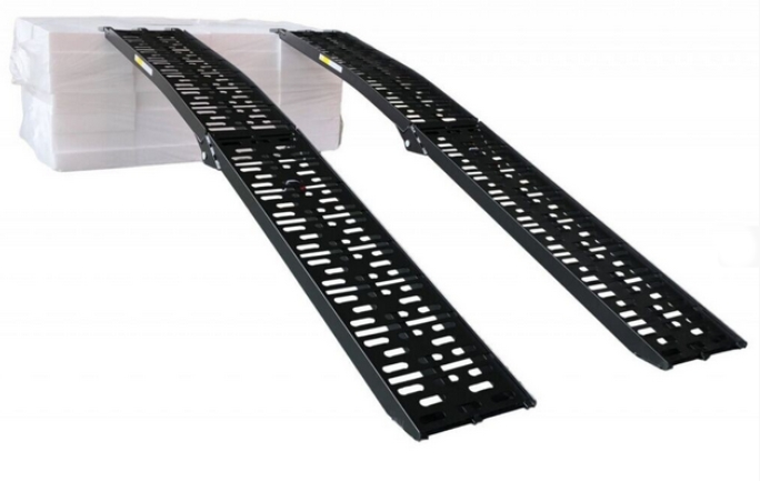 Hliníkové nájezdy s nosností 680 kg pár – LR001BLACK, obr. 2