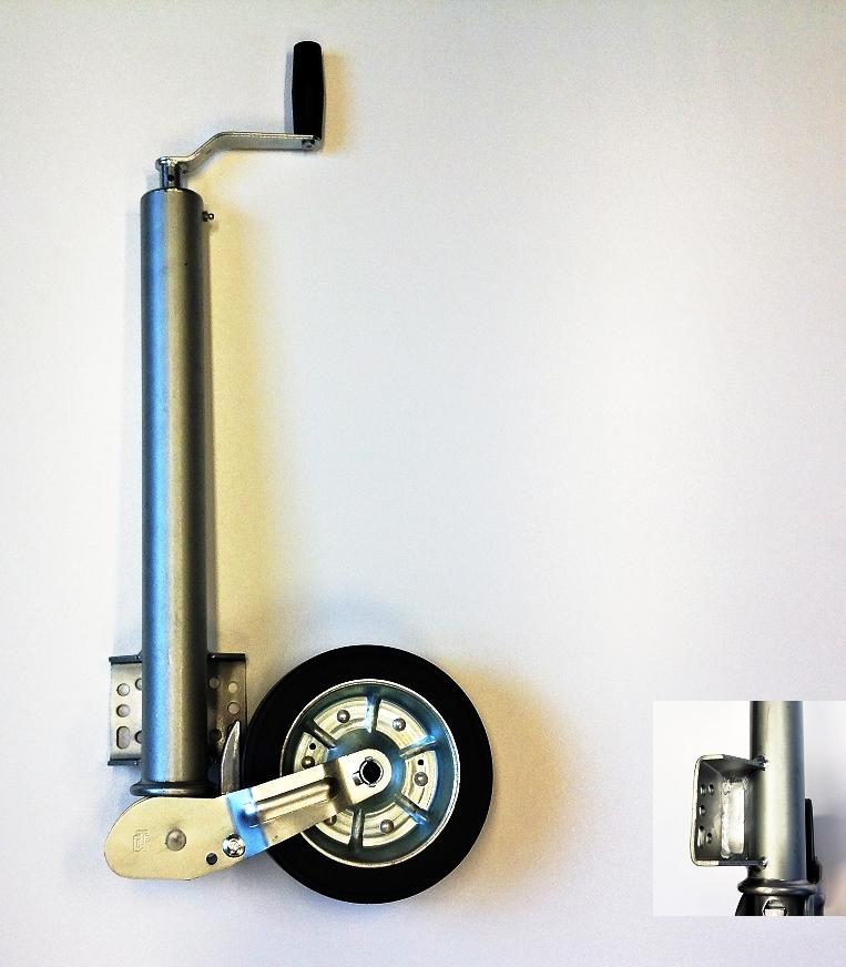Podpěrné kolo DROTECH, poloautomatické, 500 kg, 225×65